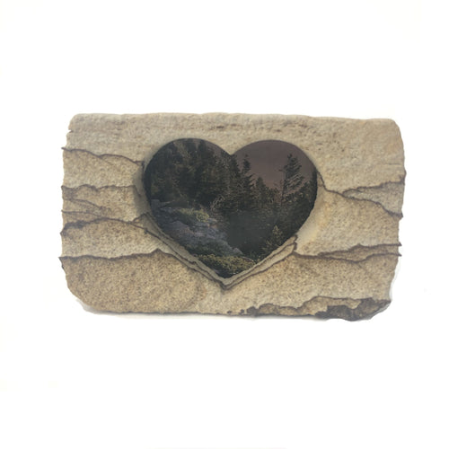 Small Sandstone Photo Frame