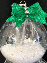 Close Up Crystal Point In Glass Ornament