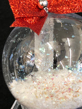 Close Up Glass Ornament With Crystal Point