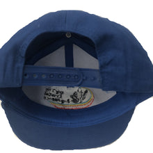 Back View Showing Sizing On Royal Blue Baseball Cap