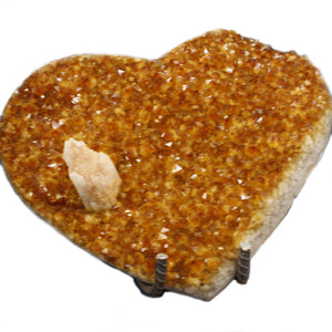 Citrine Heart Small Nemo