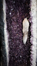 Close Up Calcite WIthin Amethyst Geode