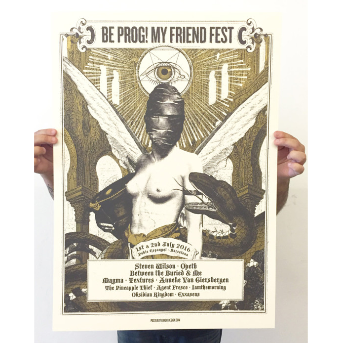 ERROR! DESIGN - Be Prog! My Friend Fest 2016