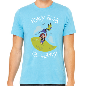 HEAVY BLOG IS HEAVY - Butterfly Shirt