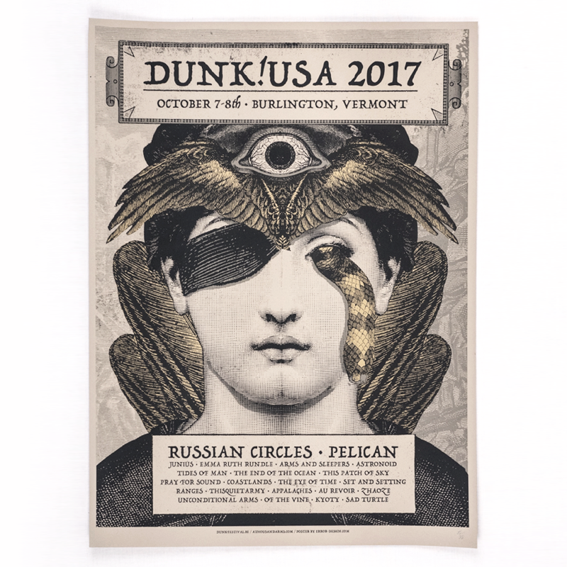 ERROR! DESIGN - dunk!USA 2017 [Poster]
