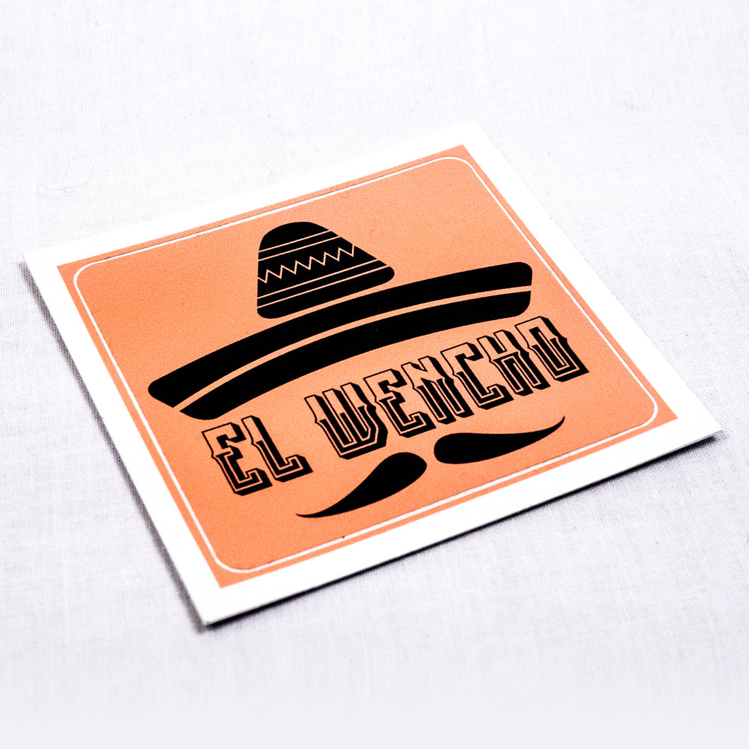 EL WENCHO - Sticker