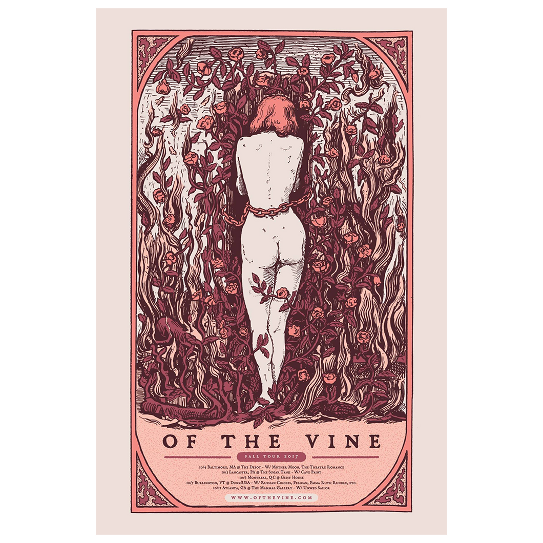 OF THE VINE - 2017 Tour [Poster]