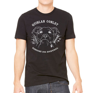 QUINLAN CONLEY & THE I-90 BLUES - Handsome Dog Shirt