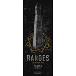 RANGES Fall 2019 Tour [Poster]