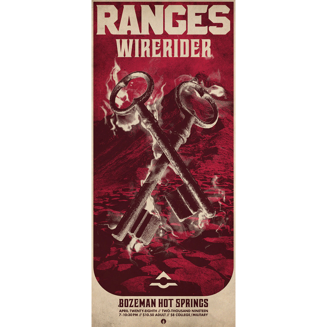 RANGES 04.28.2019 Bozeman Hot Springs [Poster]