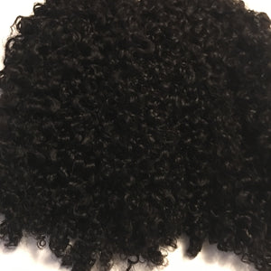 Kinky Curly Wefted Remy hair