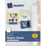 Avery Personal Creations Printable Magnetic Sheet