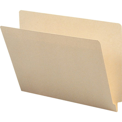 Sparco 1-ply Straight-cut End Tab Manila Folders
