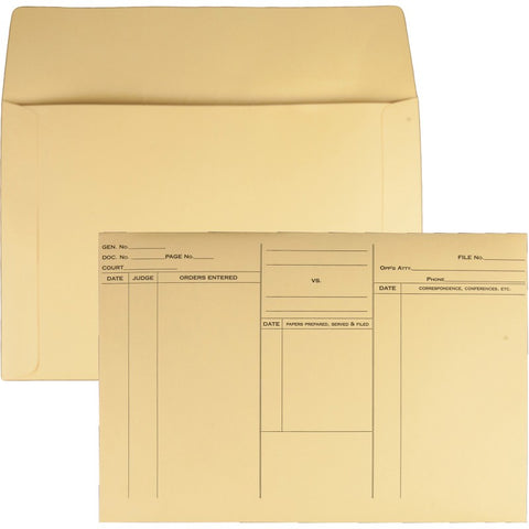 Quality Park Attorney's File Style Fold Flap Envelope