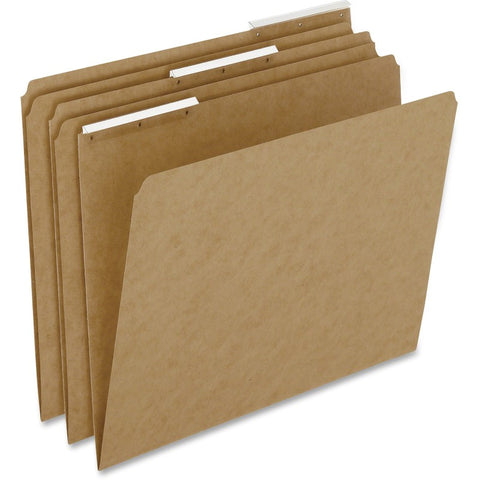 Pendaflex Kraft Angled 1/3 Cut Tab File Folders