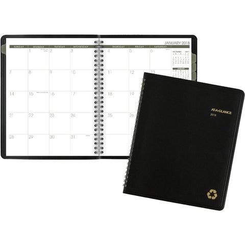 At-A-Glance 100% Recycled Monthly Planner