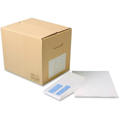 Quality Park No. 9 Bulk Double Window Envelopes