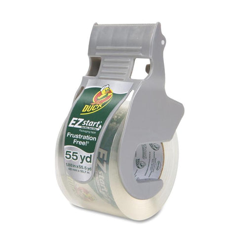 Duck Brand EZ Start Packaging Tape with Dispenser