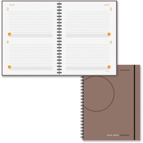 At-A-Glance 2DPP Undated Planning Notebook