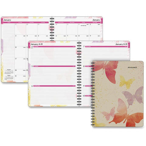 At-A-Glance Watercolors Weekly/Monthly Planner