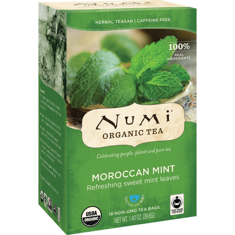 Numi Moroccan Mint Herbal Organic Tea