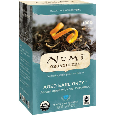 Numi Aged Earl Grey Organic Black Tea