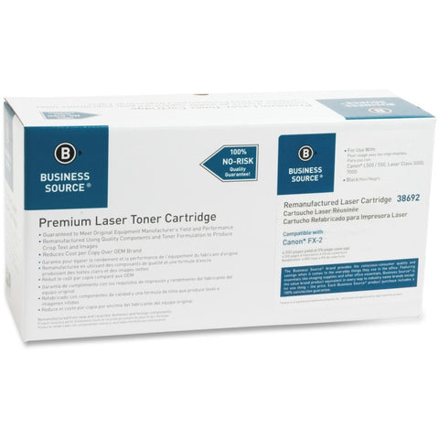 Business Source Remanufactured Toner Cartridge - Alternative for Canon (FX-2)