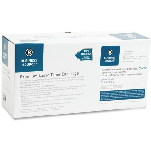 Business Source Remanufactured Toner Cartridge - Alternative for Canon (FX-3)