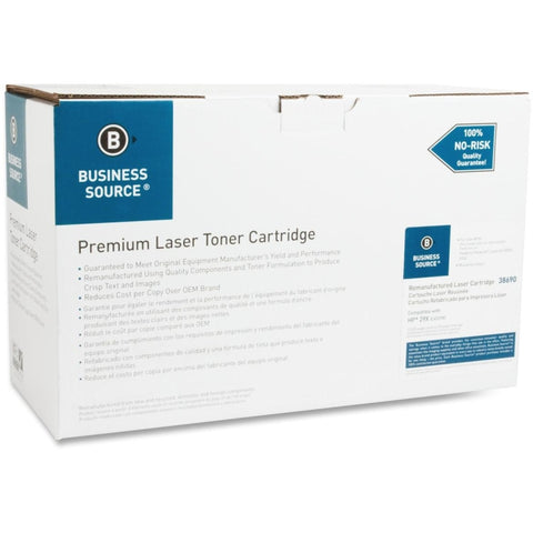 Business Source Remanufactured Toner Cartridge - Alternative for HP 29X (C4129X)