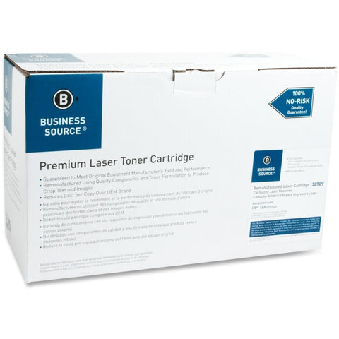 Business Source Remanufactured Toner Cartridge - Alternative for HP 16A (Q7516A)