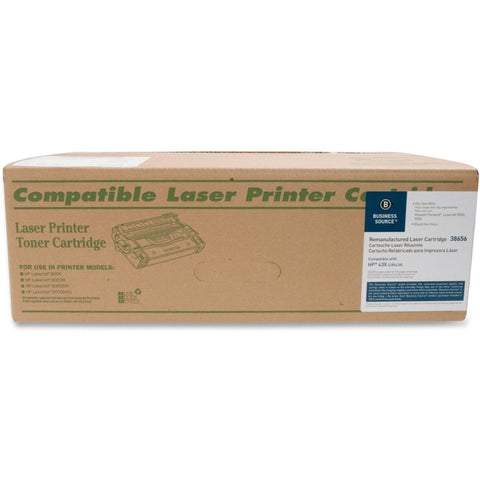 Business Source Remanufactured Toner Cartridge - Alternative for HP 43X (C8543X)