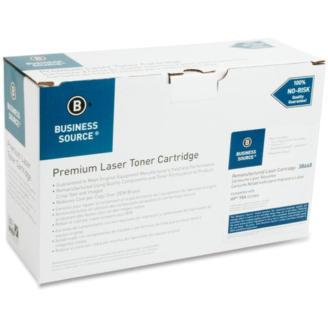 Business Source Remanufactured Toner Cartridge - Alternative for HP 98A (92298A)