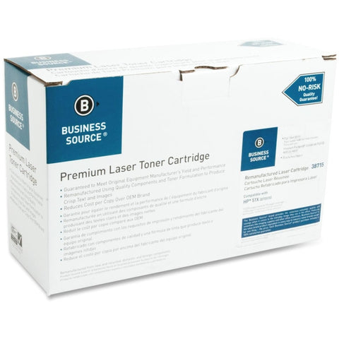 Business Source Remanufactured Toner Cartridge - Alternative for HP 51X (Q7551X)