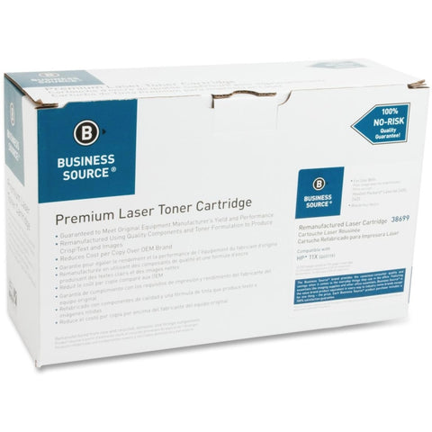 Business Source Remanufactured Toner Cartridge - Alternative for HP 11X (Q6511X)