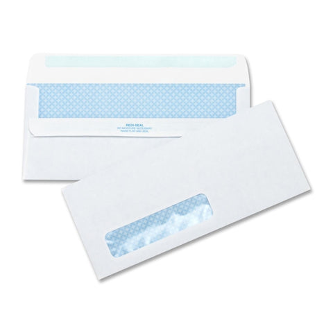 Business Source No.10 Stnd. Window Invoice Envelopes