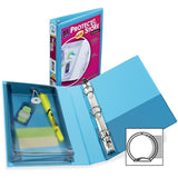 "Avery Protect & Store 5-1/2"" x 8-1/2"" Mini Durable View Binders with Round Rings"
