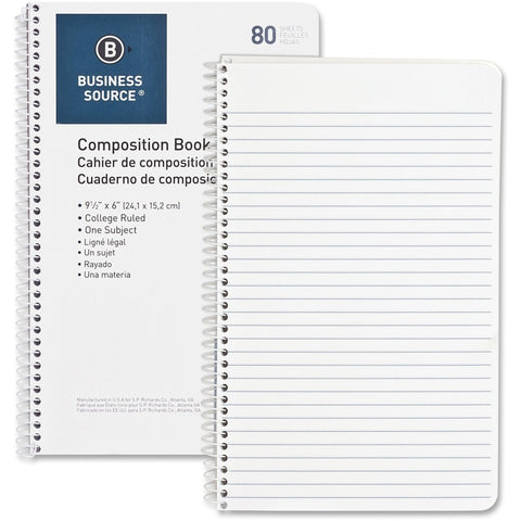 Business Source College Ruled Composition Books