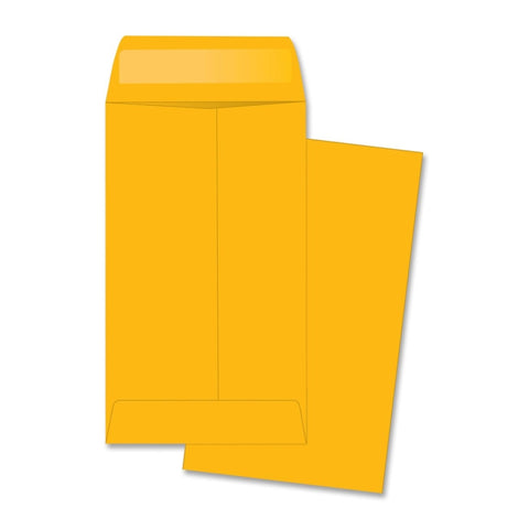 Business Source Little Coin No. 5-1/2 Kraft Envelopes