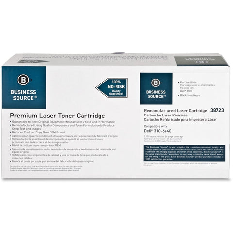 Business Source Remanufactured Toner Cartridge - Alternative for Dell (310-7660)