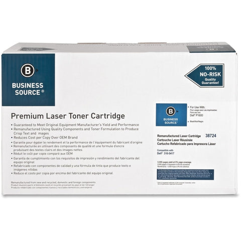Business Source Remanufactured Toner Cartridge - Alternative for Dell (310-5417)