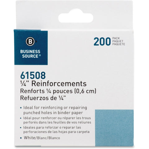 Business Source Self-adhesive 1/4