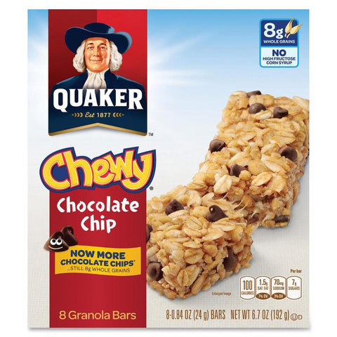 Quaker Oats Chocolate Chip Chewy Granola Bars