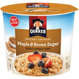 Quaker Oats Oatmeal Express Maple/Brown Sugar Cup