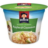 Quaker Oats Apples/Cinnamon Instant Oatmeal Cup