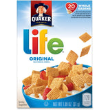 Quaker Oats Life Original Multigrain Cereal Box