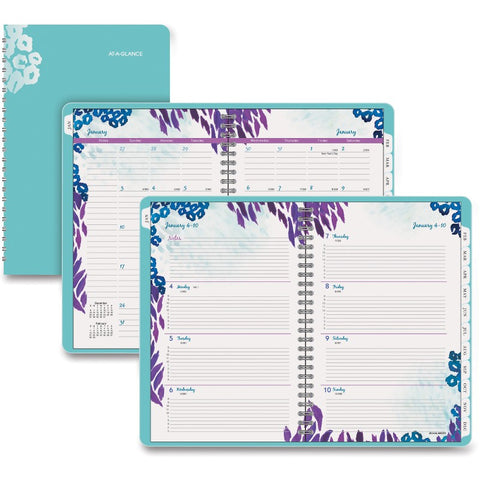 At-A-Glance Wild Washes Weekly/Monthly Planner