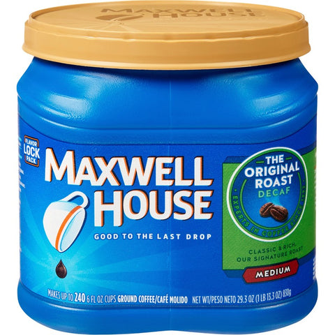 Maxwell House Decaffeinated Coffee