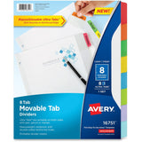 Avery Movable Tab Dividers