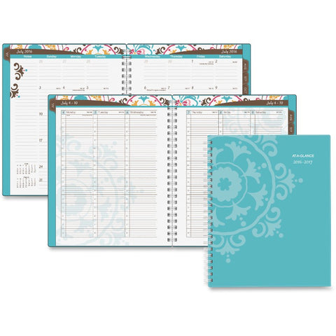 At-A-Glance Suzani Professional Weekly/Monthly Planner