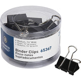 Business Source Medium 24-count Binder Clips